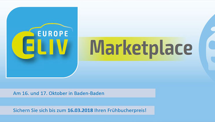 ELIV-Marketplace in Baden-Baden in October 2018