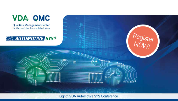 VDA Automotive SYS 2018 in Nauen/Berlin in June