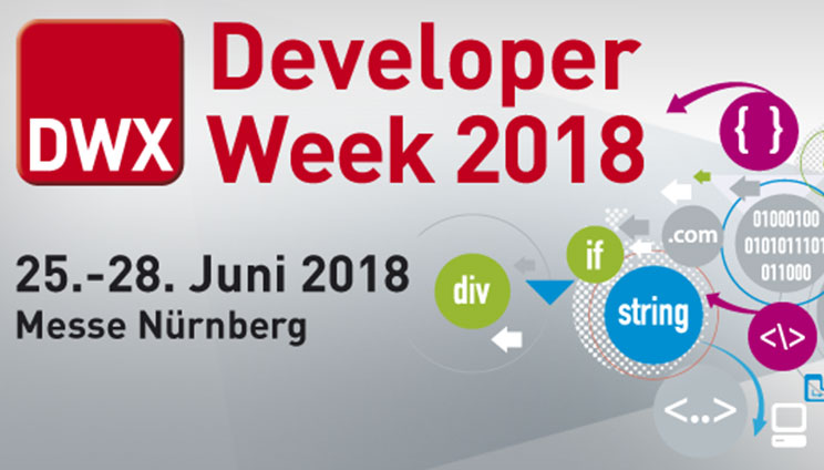 Developer Week 2018 in Nuremberg in June
