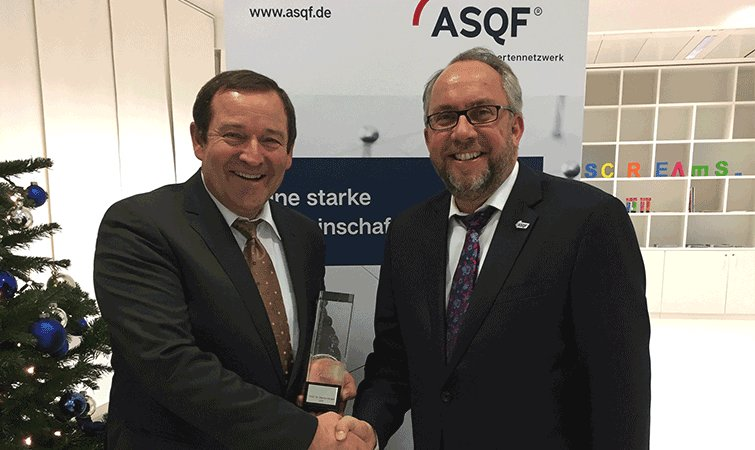 Method Park CEO receives the German Award for Software Quality