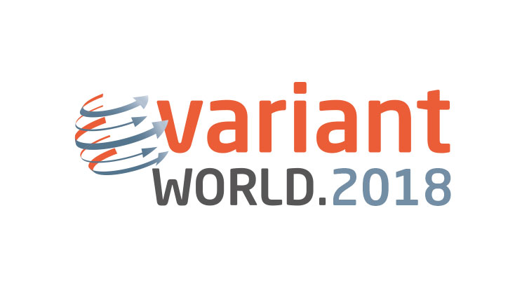 VariantWorld.2018 in Leipzig in April 2018